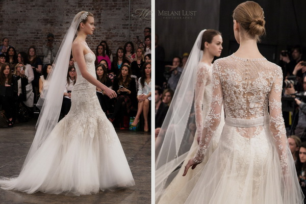 7 Trends in Wedding Dresses in 2014