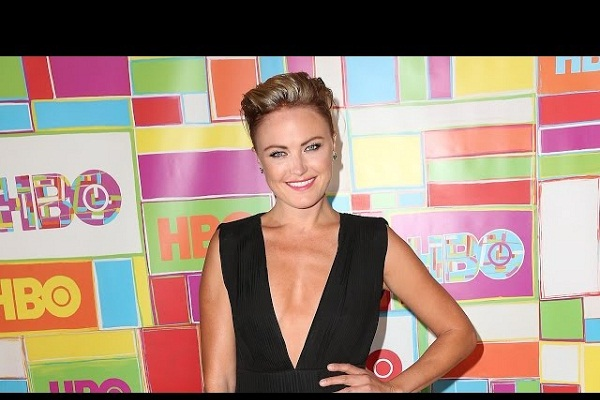 Malin Akerman Debuts Miley Cut at the Afterparty of Emmys