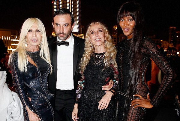 Donatella Versace -the new face of Givenchy