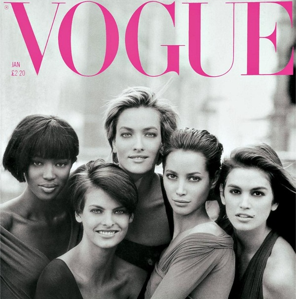Peter Lindbergh hosted a reunion of the '90s supermodel 1